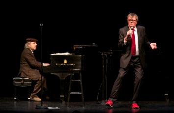 Garrison Keiller and Richard Dworsky